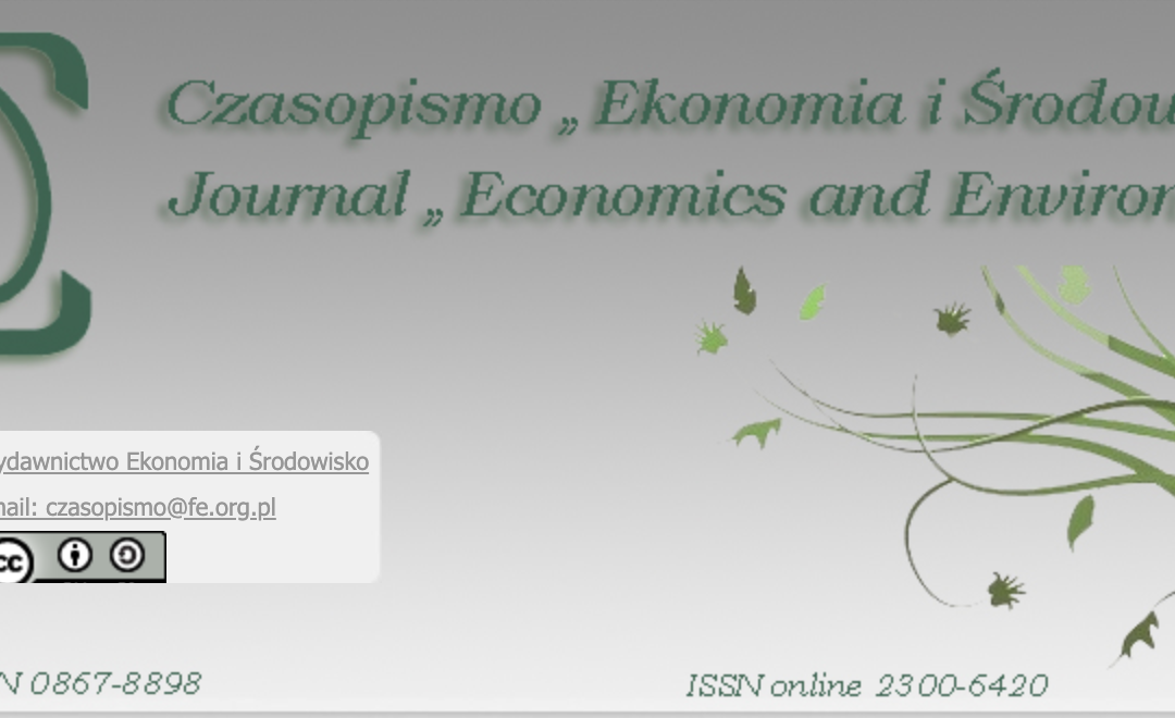 "JOURNAL ""ECONOMICS AND ENVIRONMENT"" INDEXED IN SCOPUS!"